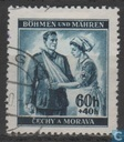 Postage Stamps - Bohemia and Moravia - Red Cross