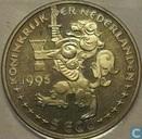 "Penningen / medailles - ECU penningen - Nederland 5 ecu 1995 ""kerstmis"""