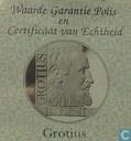 "Penningen / medailles - ECU penningen - Nederland 10 ecu 1995 ""Grotius"""