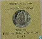 """Penningen / medailles - ECU penningen - Nederland 10 ecu 1996 """"Johannes Vermeer"""""""