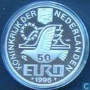 """Penningen / medailles - Fantasie munten - Nederland 50 euro 1996 """"Constantijn Huygens"""""""
