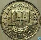 Nederland 100 centecu 1992