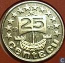 Nederland 25 centecu 1992