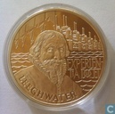 """Penningen / medailles - ECU penningen - Nederland 25 ecu 1993 """"Leeghwater"""""""