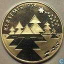 "Penningen / medailles - ECU penningen - Nederland 5 ecu 1994 ""Kerstmis"""