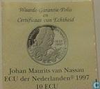 "Penningen / medailles - ECU penningen - Nederland 10 ecu 1997 ""Johan Maurits van Nassau"""