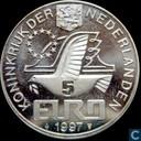 "Penningen / medailles - Fantasie munten - Nederland 5 euro 1997 ""P.C. Hooft"""