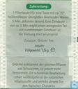 Theezakjes en theelabels - Avitale - Grüner Tee Sencha