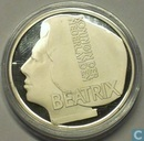 "Penningen / medailles - ECU penningen - Nederland 20 euro ecu 1996 ""Beatrix"""