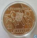 "Penningen / medailles - Fantasie munten - Luxemburg 20 euro 1996 ""Prins Hendrik"""