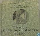 "Penningen / medailles - ECU penningen - Nederland 2½ ecu 1998 ""Willem Drees"""