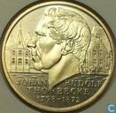"Penningen / medailles - ECU penningen - Nederland 2½ ecu 1998 ""Johan Rudolf Thorbecke"""