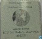"Penningen / medailles - ECU penningen - Nederland 25 ecu 1998 ""Willem Drees"""