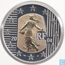 "Frankrijk 5 euro 2004 (PROOF) ""La Semeuse"""