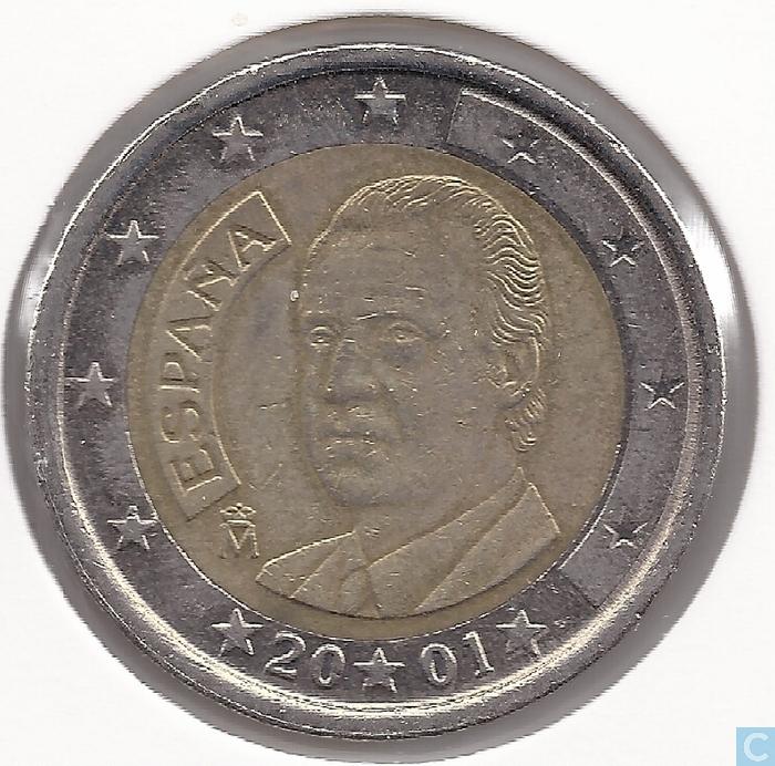 2 euro coin espana 2001