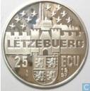 "Luxemburg 25 ecu 1997 ""Groot-hertog Aldolphe"""