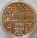 """Penningen / medailles - ECU penningen - Luxemburg 25 ecu 1998 """"Groot-hertog Henri"""""""