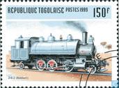 Postzegels - Togo - Locomotieven