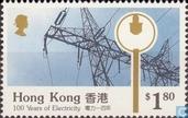 Postzegels - Hongkong - 100 jaar Elektriciteit