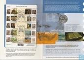"""Nederland 5 euro 2003 (Numisbrief) """"150th anniversary Birth of Vincent van Gogh"""""""