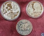 Penningen / medailles - Fantasie munten - Nederland - 50 / 20 / 5 euro 1996/1998