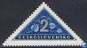 Postage Stamps - Czechoslovakia - Delivery Stamp