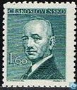 Postage Stamps - Czechoslovakia - President Edvard Benes