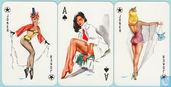 Darling Playing Cards No. 4100, Bielefelder Spielkartenfabrik G.m.b.H., 52 Speelkaarten + 2 jokers, Playing Cards