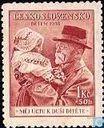 Postage Stamps - Czechoslovakia - President Masaryk Thomás