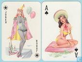 Darling Playing Cards No. 1, Bielefelder Spielkartenfabrik G.m.b.H., 52 Speelkaarten + 3 jokers, Playing Cards