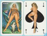 Aslan II, Carta Mundi, Turnhout, 32 Speelkaarten + 1 joker, Playing Cards