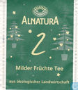 Sachets et étiquettes de thé - Alnatura -  2 Milder Früchte Tee