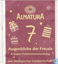 Sachets et étiquettes de thé - Alnatura -  7 Augenblicke der Freude