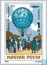Postage Stamps - Hungary - Aerostats