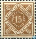 Postage Stamps - Württemberg - Figure in diamond