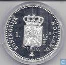 Herslag 1 Gulden 1810 (zilver)