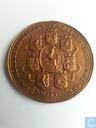 Penning Stadhouder Willem IV 03-05-1747