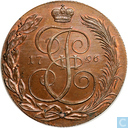 Rusland 5 kopeken 1796 (Novodel)