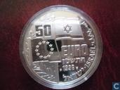 "Penningen / medailles - Fantasie munten - Israel 50 euro 1996 ""Golda Meir"