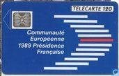 Communauté Européenne 1989 Présidence Française