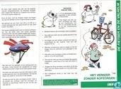 De fietser en de valhelm