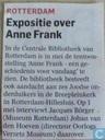 Expositie over Anne Frank