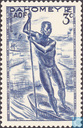 Timbres-poste - Dahomey - Pirogue