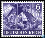 Postage Stamps - German Empire - Military forces