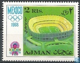 Postzegels - Ajman - Olympische Spelen