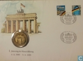 Postage Stamps - Germany, Federal Republic - Fall of the wall