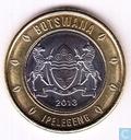 Botswana 5 pula 2013