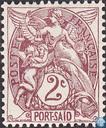 Postzegels - Port-Said - Type Blanc