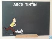 Krijtbord ABCD Tintin