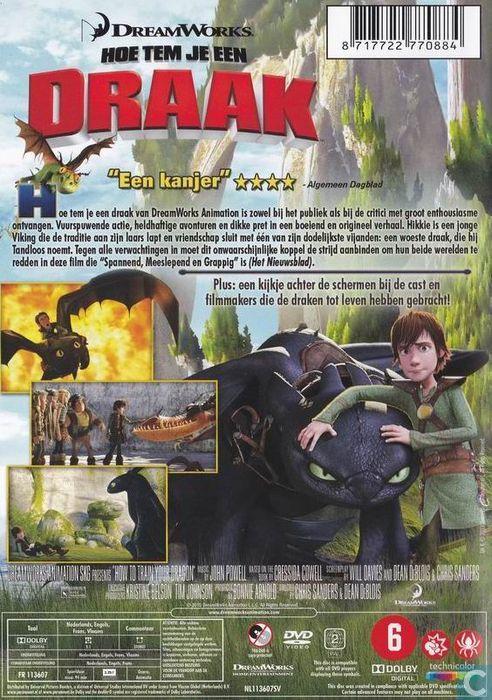 Hoe Tem Je Een Draak 3 (Nederlandse Versie) 'HD' DVDRIP NL ...